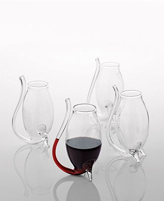 come on! wine sippy cups?  ok, they are port glasses by wine enthusiast, but they look great for wine too!