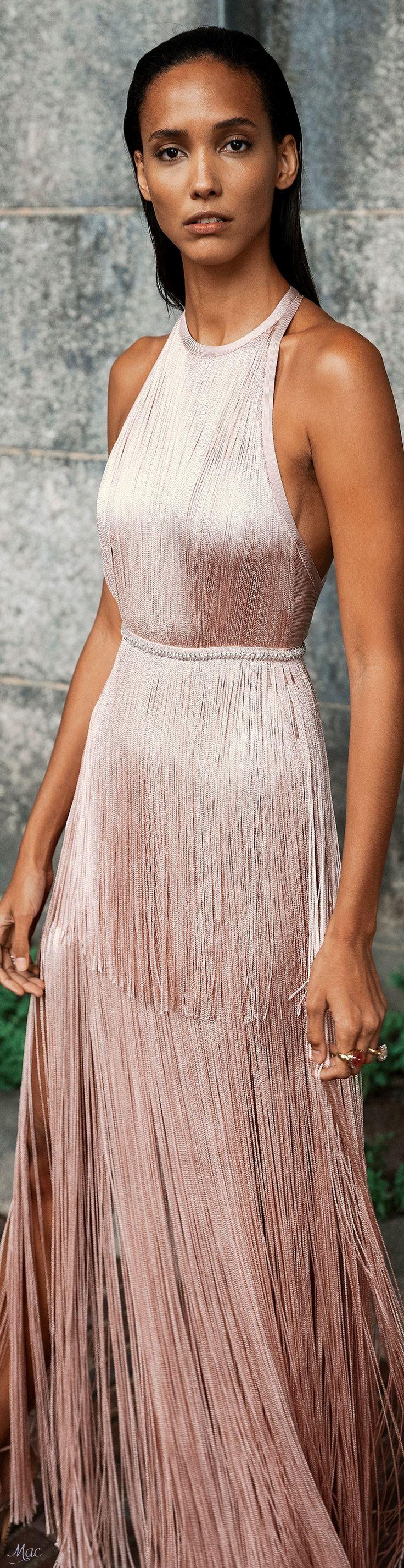 Spring 2019 RTW Hervé Léger | Lovely Gowns! | Pinterest