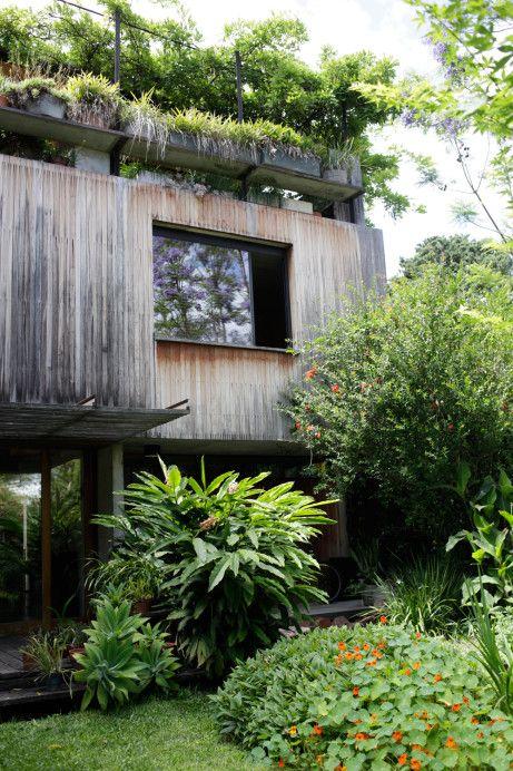Miluccia ◆: Un jardin avec toit à Buenos Aires