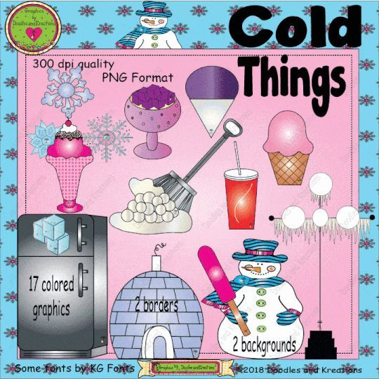 A cool collection of Cold Things.