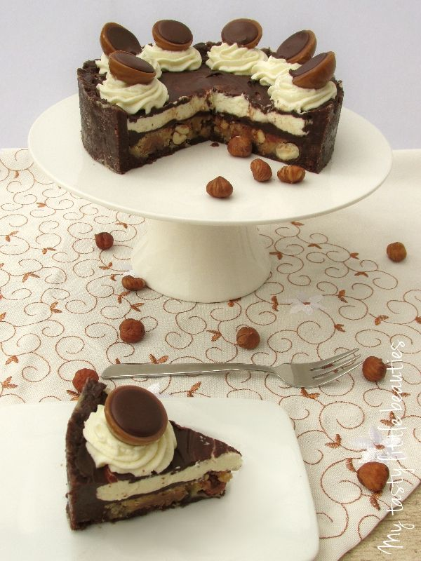 die besten 25 toffifee kekse ideen auf pinterest toffifee kuchen ohne backen toffifee torte. Black Bedroom Furniture Sets. Home Design Ideas