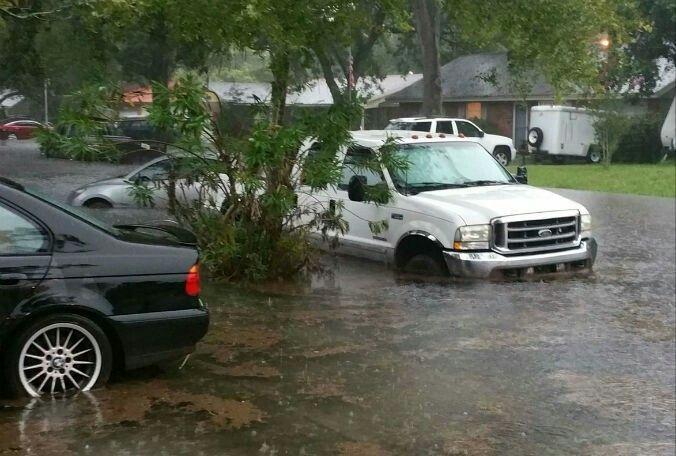 Flooding, Kissimmee, Florida 7/17/2017