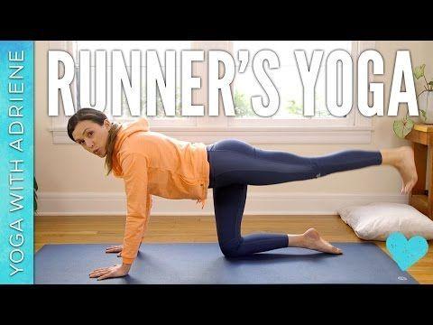Runner's Yoga - Yoga With Adriene - YouTube