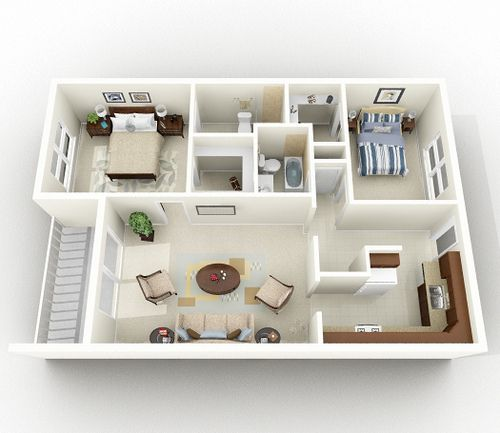 37 Best Images About 3D Floor Plans For Sims On Pinterest