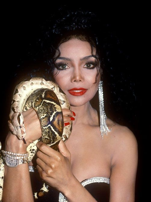 La Toya Jackson with her snake | I Love The Jackson Family ...