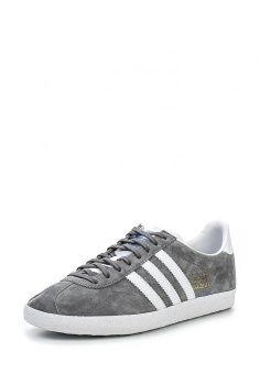Кеды adidas Originals, цвет: серый. Артикул: AD093AMDYK97. Мужская обувь / Кроссовки и кеды / Кеды