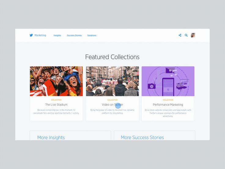 Twitter Marketing Platform / Tim Roussilhe