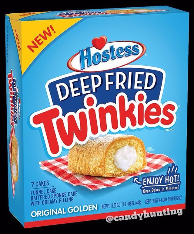 New Deep Fried Twinkies will be out exclusively at Walmart on August 22 in the frozen food aisle! Check out @junkbanter's feed for the other flavor, chocolate!