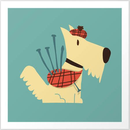 scottie dog wall art - Google Search