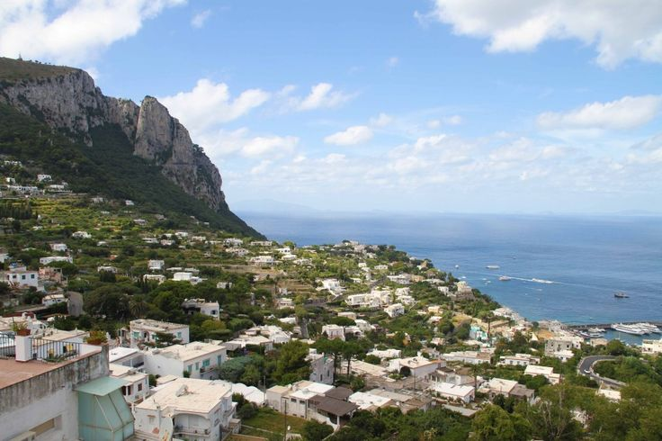 Capri, off the Amalfi Coast, Italy