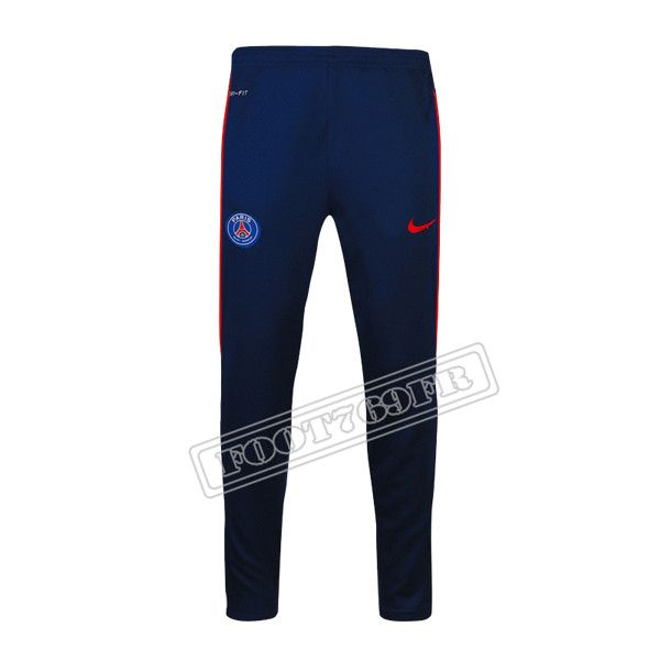 Destockage:Nouveau Pantalon Survetement PSG Paris Saint Germain Bleu Marine 2016 2017 Thai Edition | Foot769Fr