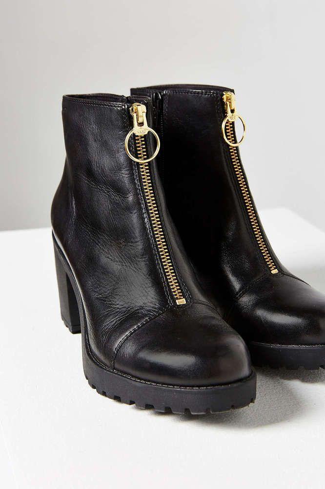 52607c99f66bc Details about Vagabond Grace Womens Ladies Black Olive Chelsea Ankle ...