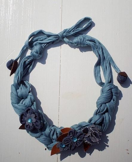 Handmade Textile Jewelry Designs and Ideas