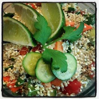 Coconut Lime Quinoa Salad | Venturing Vegan
