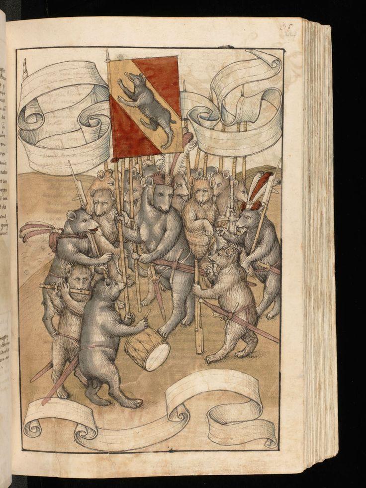 Spiezer Chronik,Bern, Burgerbibliothek, Mss.h.h.I.16: Diebold Schilling,15th century (http://www.e-codices.unifr.ch/en/list/one/bbb/Mss-hh-I0016)