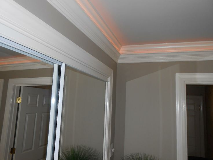 Crown molding ideas crown molding designs by denise for Contemporary trim moulding