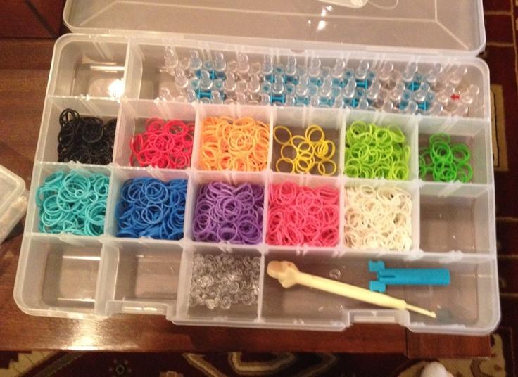 Ultimate Rainbow Loom Organizer