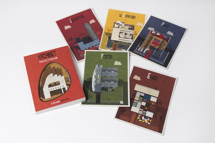 Booktopia - Archibet, 26 postcards by Federico Babina by Federico Babina. Buy Postcards at Booktopia's online stationery store