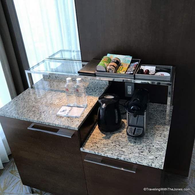 refreshment center - Marriott Osaka Miyako hotel