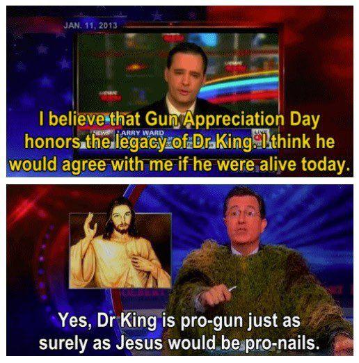 I love Stephen Colbert.
