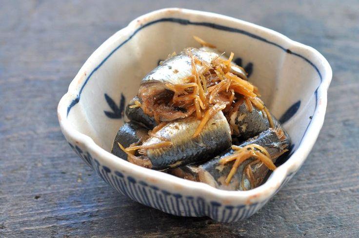 いわしの生姜煮の写真