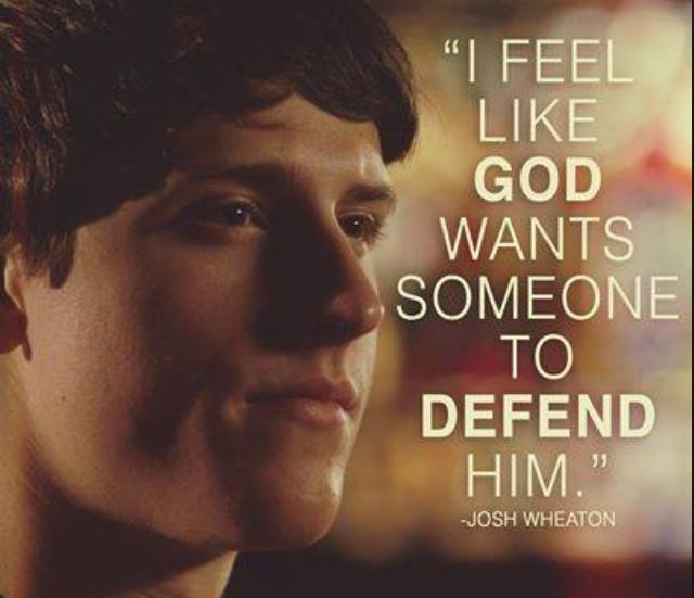 Never be afraid to defend your father, the king of kings and Lord of Lords