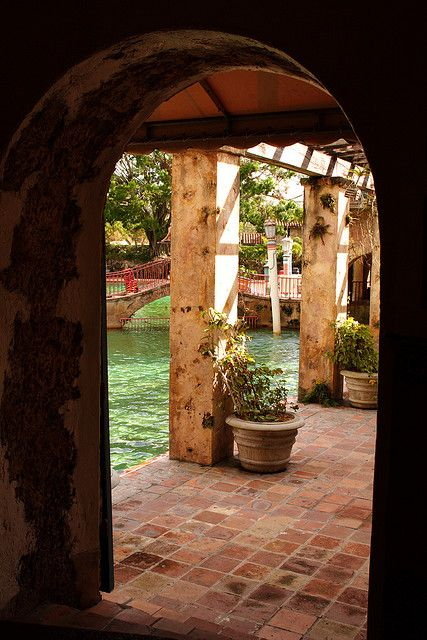 Venetian Pool, Coral Gables, Florida-a wonderful town that borders Miami....I'll take this town any day with its beautiful Spanish architecture