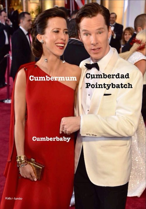 benedict cumberbatch baby name funny