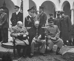 Winston Churchill Featured Images - The Big Three -- WW2 Leaders  by War Is Hell Store