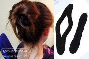 Tampil Menawan Dengan Sanggul Yang Mudah Di Bentuk Menggunakan Hairbanded Hanya Rp.25,000 - www.evoucher.co.id #Promo #Diskon #Jual  Klik > http://www.evoucher.co.id/deal/Hairbanded  Hairbanded alat pengikat rambut,sangat praktis dan serbaguna dan cepat. Yang pasti tidak membuat rambut kita jadi rusak. dan mendapatkan model sesuai keinginan kita. Bisa bikin cepol sesuka hati, bisa messy atau buat formal!  pengiriman mulai 2014-01-25