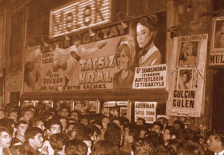 Melek sineması giriş izdihamı 1965 ..