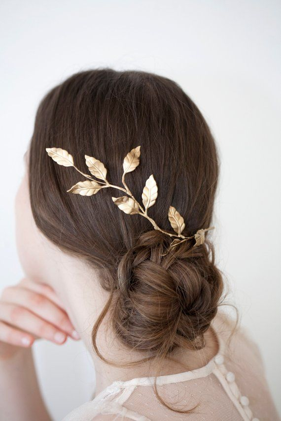 2019 Fashion Women Metal Leaf Hair Clip Girls Vintage Ponytail Barrettes Hairpin Princess Hair Accessories Barrettes Para El Pelo Hairpins 50% OFF Back To Search Resultsapparel Accessories