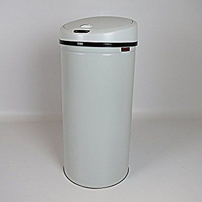 Dirty Pro ToolsTM Steel Automatic Sensor Bin 47 litres Waste Dustbin for Kitchen Office Auto Sensor Bin Touchless (Light Grey): Amazon.co.uk: Kitchen & Home