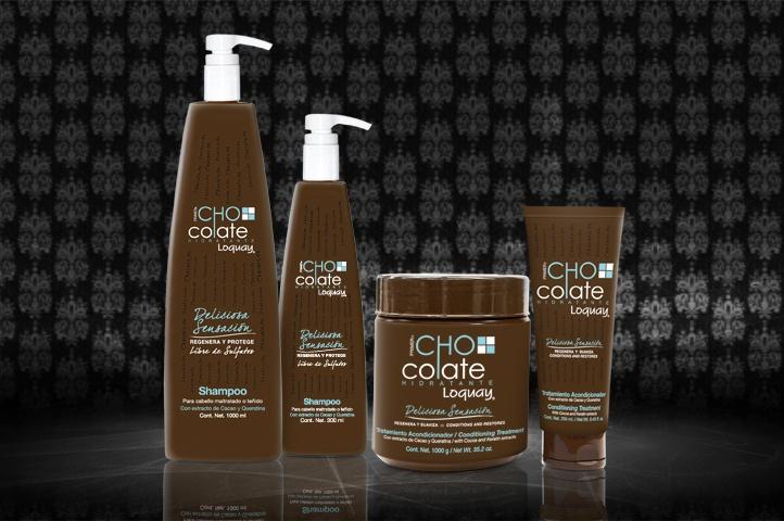 La chocolaterapia enfrascada para tu cabello. Disfruta del delicioso aroma del shampoo y tratamiento Chocolate además de hidratar a profundidad.