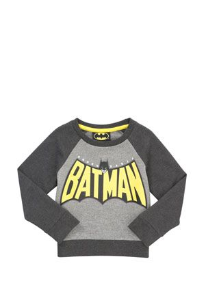 DC Comics Batman Raglan Sweatshirt