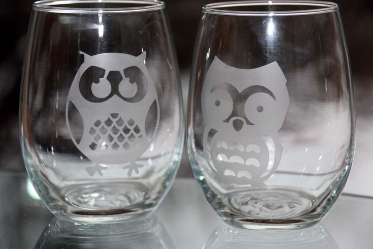 Etched Glass Gifts:  Fails and Success