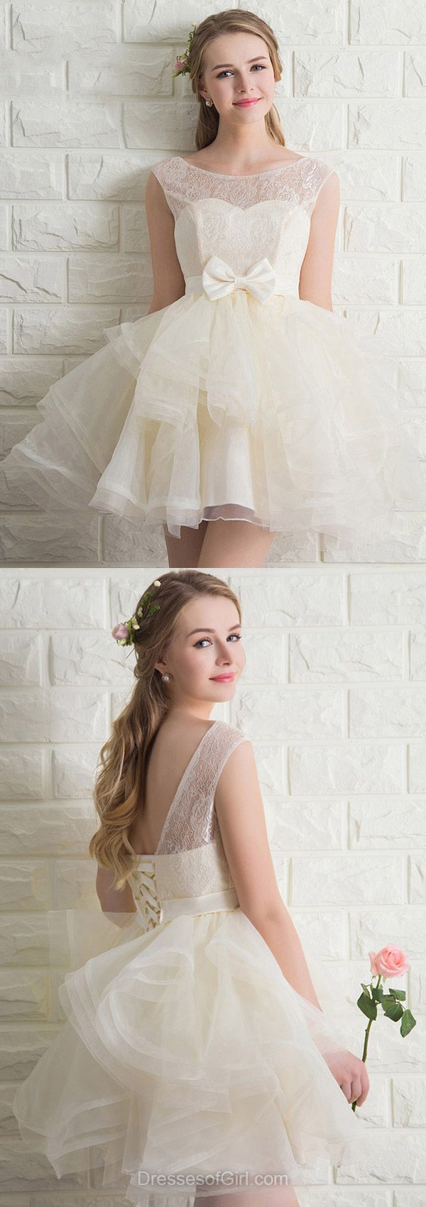Princess Prom Dress, Short Prom Dresses, Iovry Homecoming Dress, Low Back Homecoming Dresses, Princess Cocktail Dress