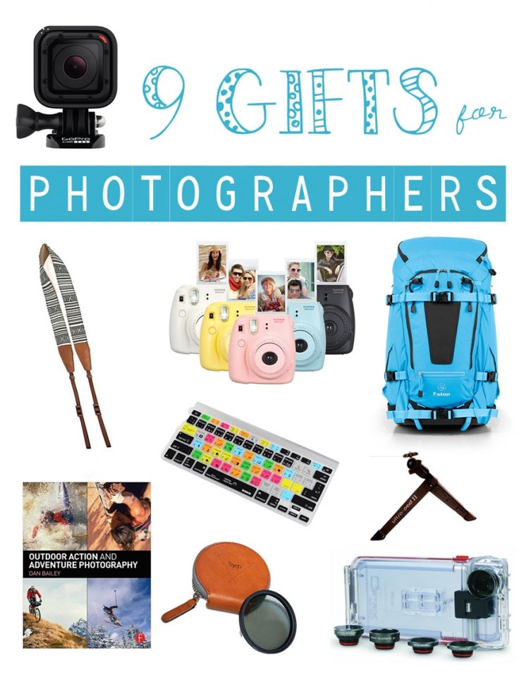 Some of my favorite photography-related products that would make fun and useful holiday gifts for photographers and enthusiasts