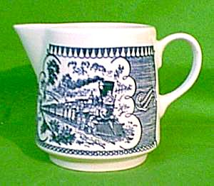 Tall Creamer Currier Ives Royal China  sc 1 st  Pinterest & 65 best Currier \u0026 Ives images on Pinterest | Currier and ives ...
