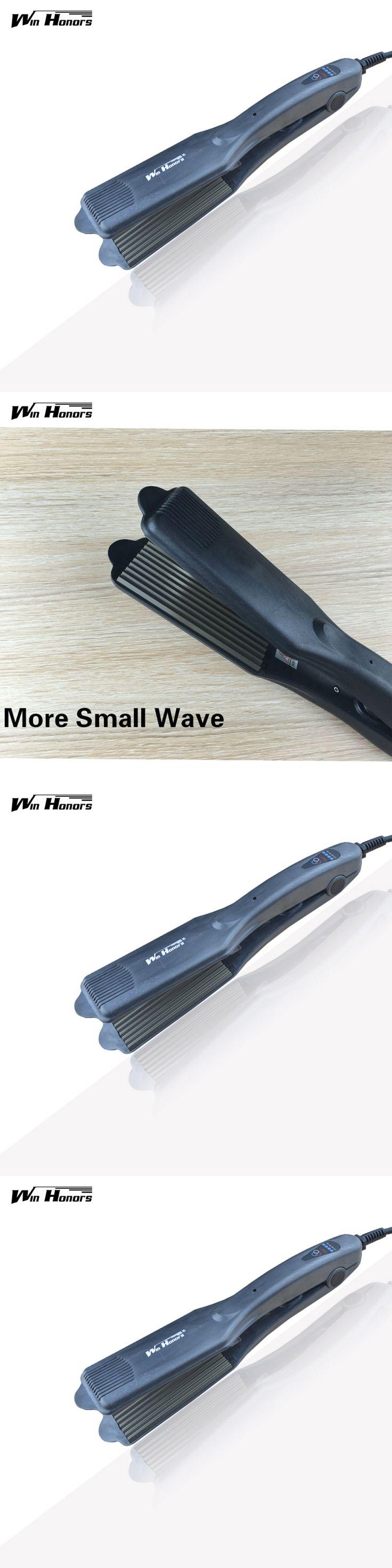 Professional Hair Straightener Waver Iron Corn Electric Hair Crimper Machine with EU/US/UK/AU Plug Hair Ripple