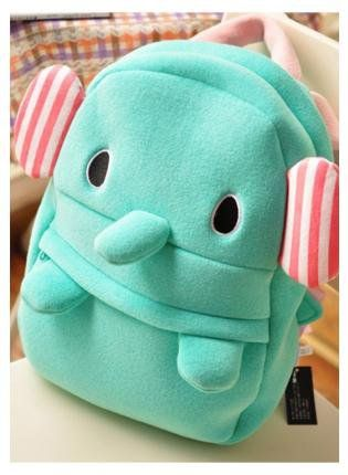 Cute Elephant Backpack For Women even though this reminds me of something that a little toddler girl would wear to school. She would probably be mine.