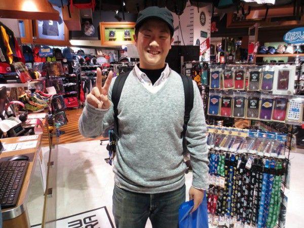 【大阪店】2015.03.18 キャップをご購入頂いたお客様にスナップ協力して頂きました!!ありがとうございます!!(*^_^*)また遊びに来て下さいね~!!
