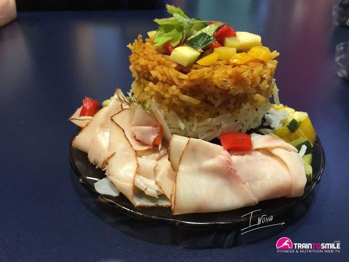 Tortino di 3 tipi di riso diversi. Il gusto è fenomenale, prova la ricetta, clicca sulla foto per poter sapere come fare.