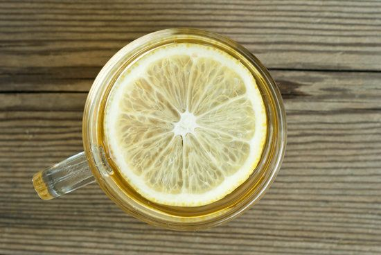 Morning: Drink Hot Water and Lemon: A mug of hot lemon water in the morning wakes up your digestive system and helps get things moving. You can drink green tea with lemon if you don't like the taste of warm lemon water on its own.