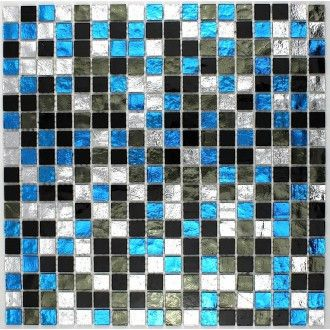 26 best images about mosaique bleu on pinterest for Carrelage bleu turquoise salle de bain