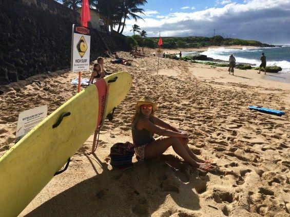 Era sonho muito antigo conhecer o Hawaii, mas eu não queria ir para um hotel, a vontade era alugar uma casa e curtir pelo menos um mês de férias em família.