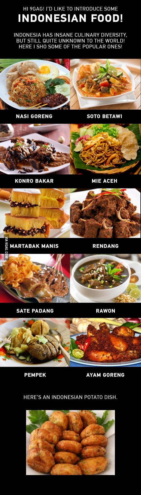Indonesian food! ❤ I hope you guys get to taste them!