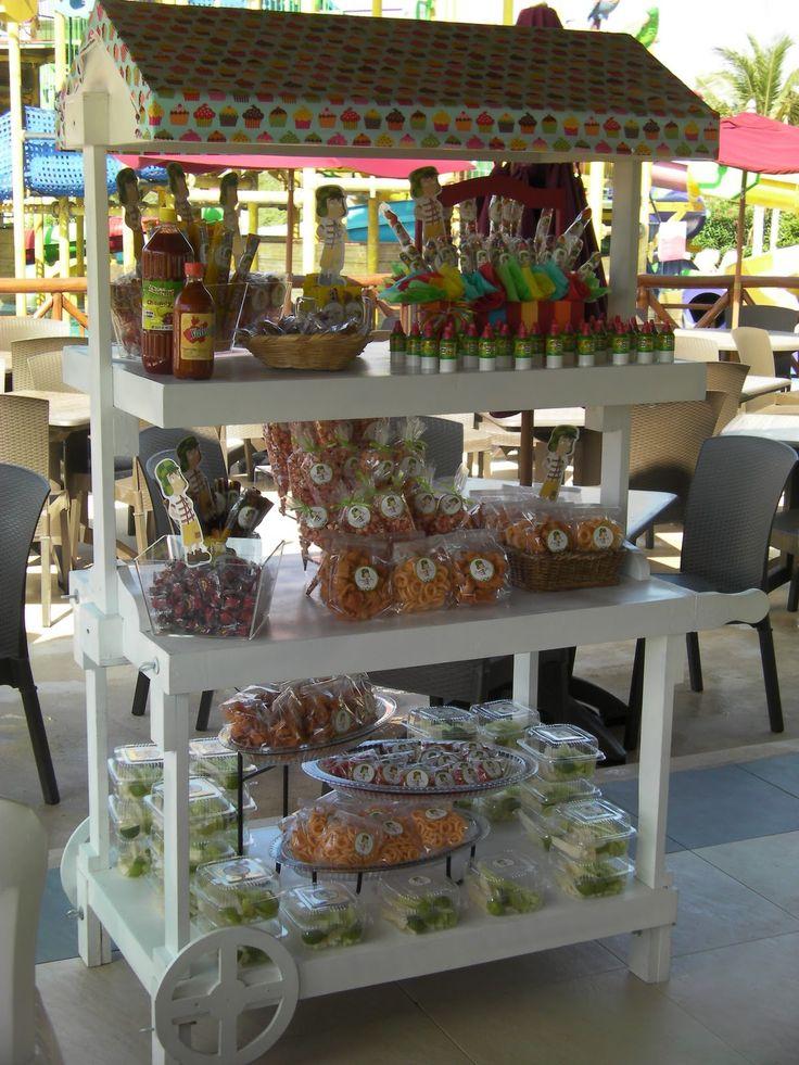 Party Boutique Cancún: Mesa de dulces con el tema del chavo del 8