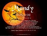 name mandy «Chinese names «Classic