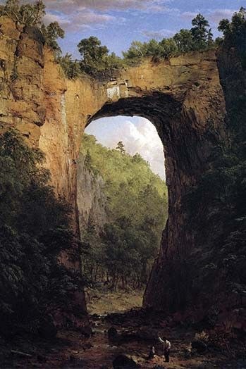 Natural Bridge, Virginia . High quality vintage art reproduction by Buyenlarge. One of many rare and wonderful images brought forward in time. I hope they bring you pleasure each and every time you lo                                                                                                                                                      More